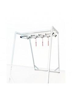 Zestaw Redcord Workstation Professional Floor Stand z konstrukcją podłogową i z konstrukcją sufitową z 2 trawersami