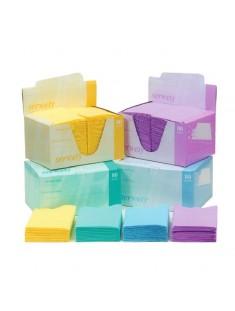 Serwety Classic składane pudełko 80 szt, 48 cm x 33 cm morela